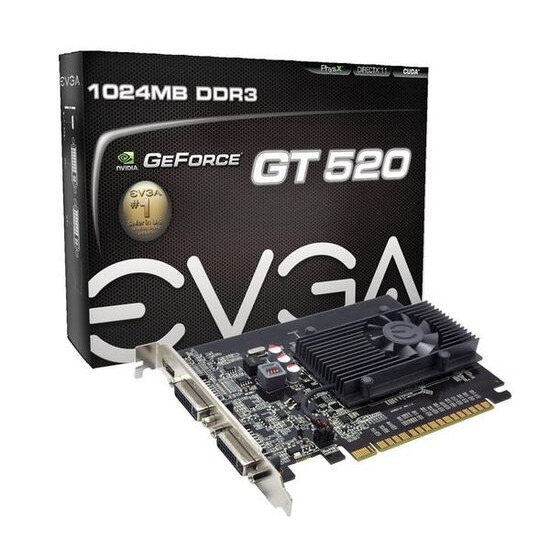 EVGA GeForce GT 520 PCI-E (1GB)