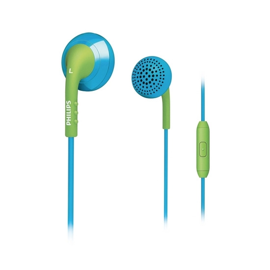 Philips SHE2675BG Headphones - Blue & Green