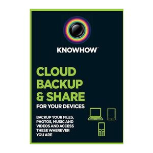 Photo of Knowhow Cloud 1TB Data Storage