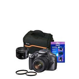 Canon EOS 1100D 50mm Mega Bundle Reviews