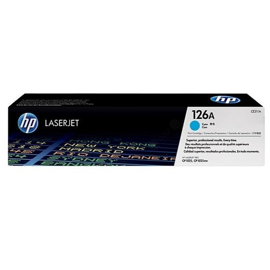 HP 126A Cyan Original LaserJet Toner Cartridge