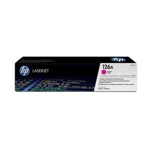 Photo of HP 126A CE313A Magenta Original LaserJet Toner Cartridge Printer Accessory