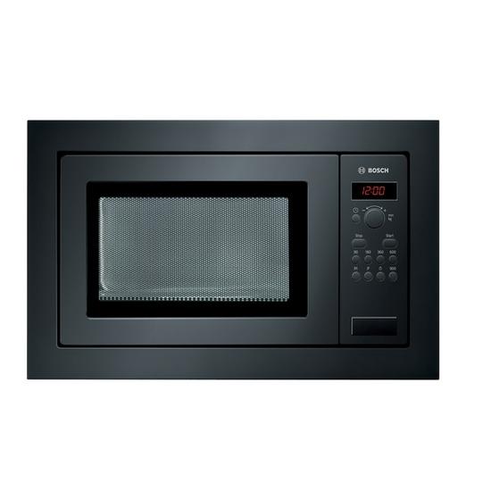 Bosch HMT84M661B Built-in Microwave Oven - Black