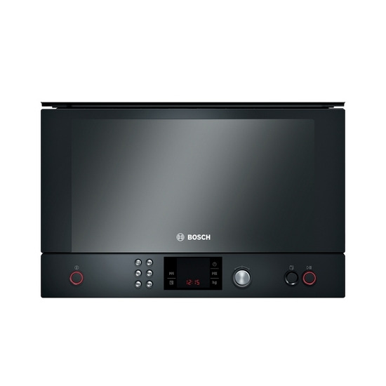 Bosch Exxcel HMT85ML63B Built-in Solo Microwave - Black