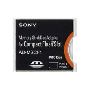 Photo of Sony Memory Stick PRO DUO Adaptor For Compact Flash Slot Memory Card