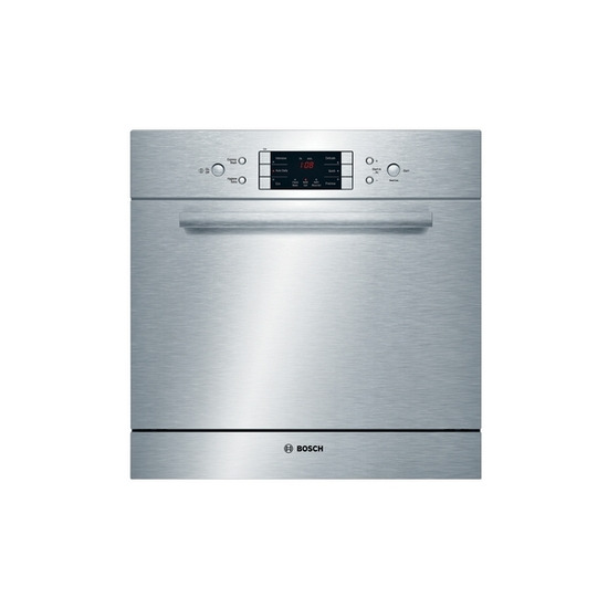 Bosch Exxcel SCE63M05GB Compact Integrated Dishwasher - Brushed Steel