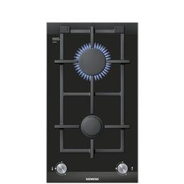 Siemens iQ700 ER326BB90E Gas Hob - Black & Stainless Steel