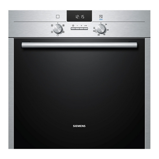 Siemens iQ300 HB13AB520B Electric Oven - Stainless Steel