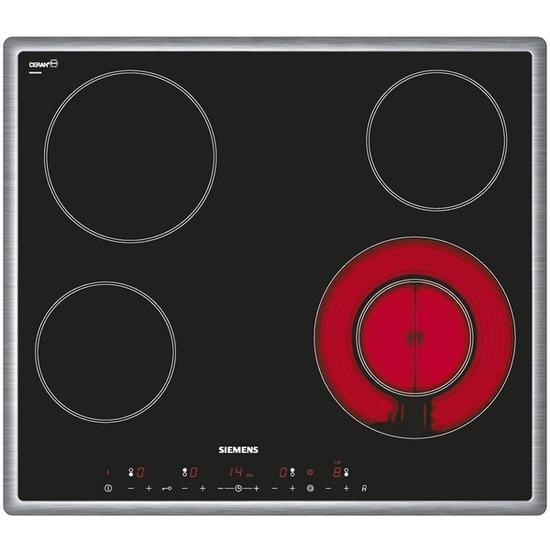SIEMENS iQ300 ET645TF11E Ceramic Hob - Black
