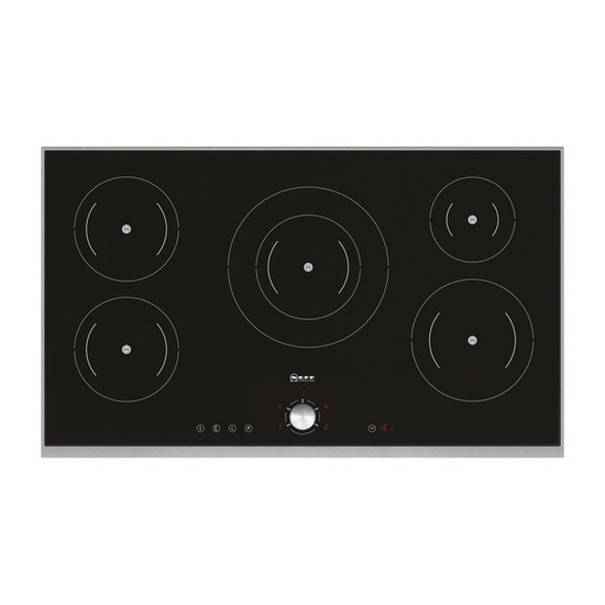 NEFF Series 4 T44T90N0 Induction Hob - Black