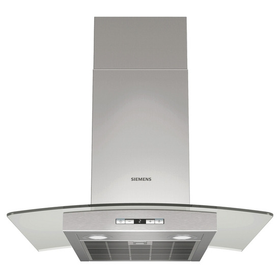 SIEMENS iQ500 LC68GE540B Chimney Hood - Stainless Steel