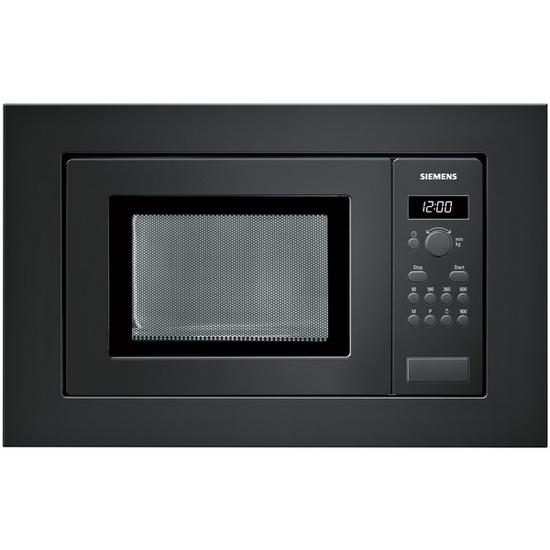 SIEMENS HF15M662B Built-in Solo Microwave - Black