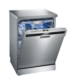 Siemens SN26T596GB Full-size Dishwasher - Stainless Steel