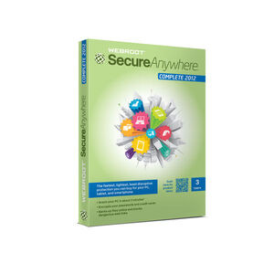 Photo of Webroot SecureAnywhere Complete Software