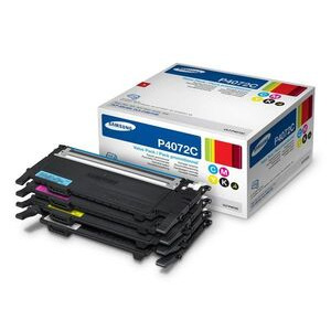 Photo of Samsung Original CLT-P4072C Black and Colour Toner Multipack Ink Cartridge