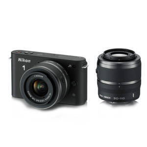 Photo of Nikon 1 J1 Twin Lens Kit - 10-30MM and 30-110MM Digital Camera