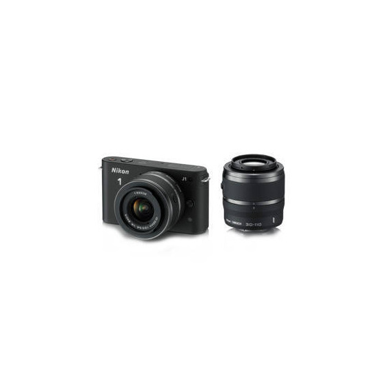Nikon 1 J1 Twin Lens Kit - 10-30mm and 30-110mm