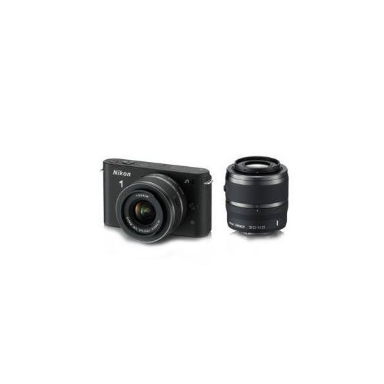 Nikon 1 J1 Twin Lens Kit - 10-30mm and 30-110mm