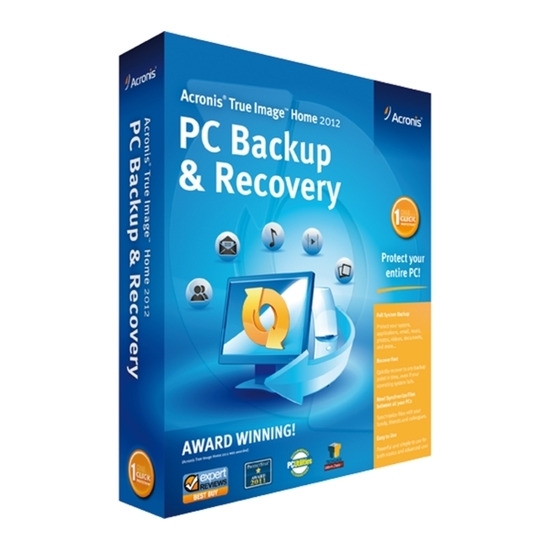Acronis True Image Home 2012 : PC Backup & Recovery
