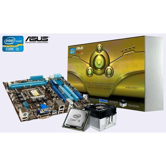 ASUS P8H67-M LE with Intel i3 2100 and Performance Fan