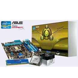ASUS P8H67-M LE mATX Motherboard Bundle with Intel i3 2100 CPU and 4GB memory Reviews