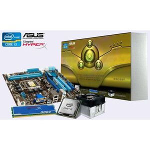 Photo of ASUS P8H67-m LE MATX Motherboard Bundle With Intel I3 2100 CPU and 4GB Memory Motherboard