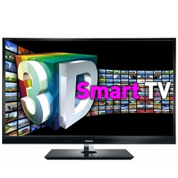 "TOSHIBA 55WL863B 55"" Full HD LED 3D TV - Black Reviews"