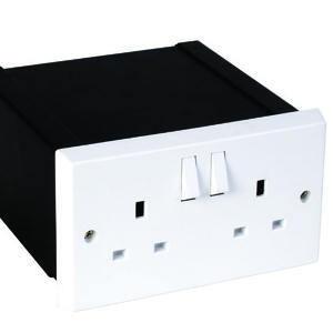 Photo of Alpha Double Plug Socket Safe Safe
