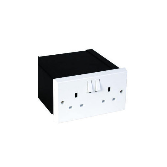 Alpha Double Plug Socket Safe