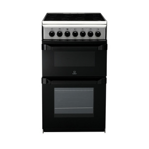 Photo of INDESIT IT50C1X Electric Cooker - Stainless Steel Cooker
