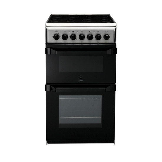 INDESIT IT50C1X Electric Cooker - Stainless Steel