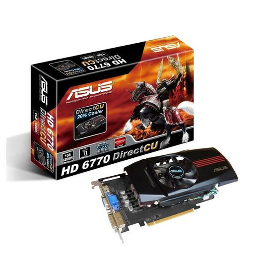 Asus Radeon HD 6770 PCIe (1GB)