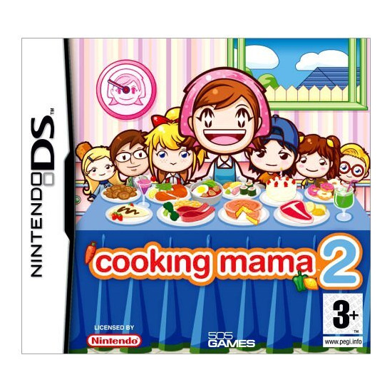 Cooking Mama 2: Dinner With Friends (DS)