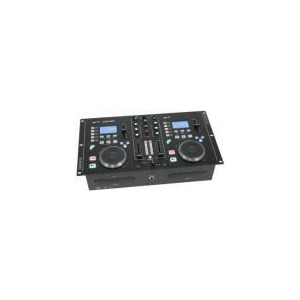 Photo of Citronic CDMX 2 Dual CD / MP3 Mixstation With Amplifier Turntables and Mixing Deck
