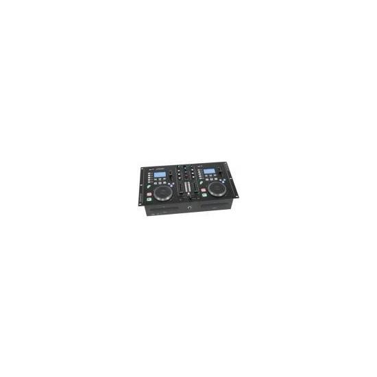 Citronic CDMX 2 Dual CD / MP3 Mixstation with Amplifier