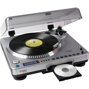 Photo of Ion LP 2 CD USB Turntable With Direct-To-CD Recording Turntables and Mixing Deck