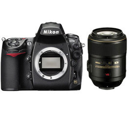 Nikon D700 with 105mm VR Lens