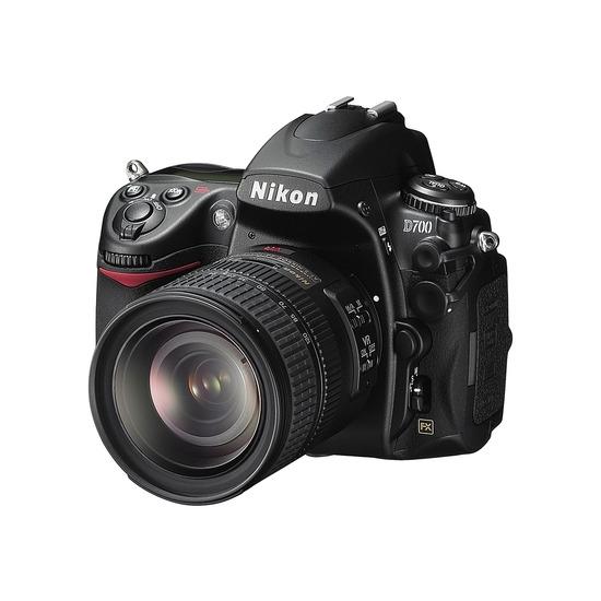 Nikon D700 with 24-120mm VR lens