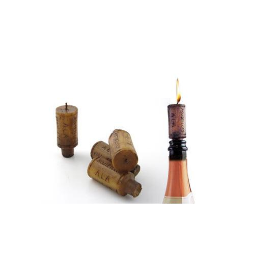 Wine Cork Candles