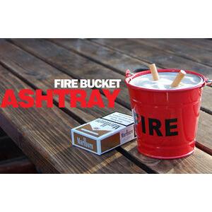 Photo of Fire Bucket Ashtray Home Miscellaneou