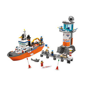 Photo of Coast Guard Patrol Boat & Tower 7739 Toy