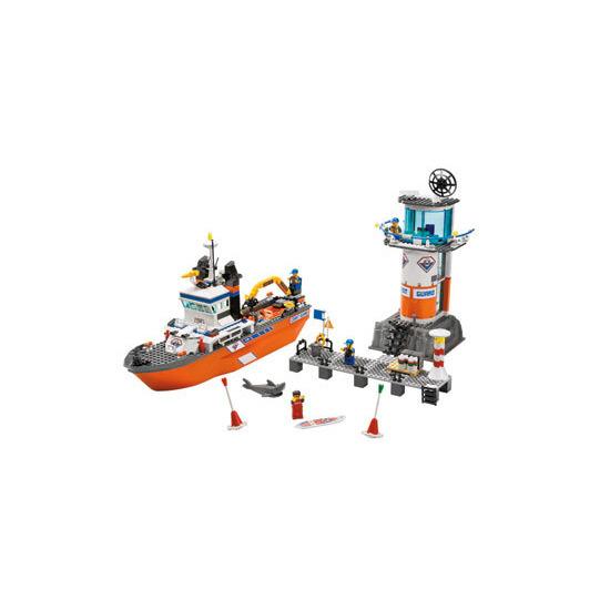 Coast Guard Patrol Boat & Tower 7739