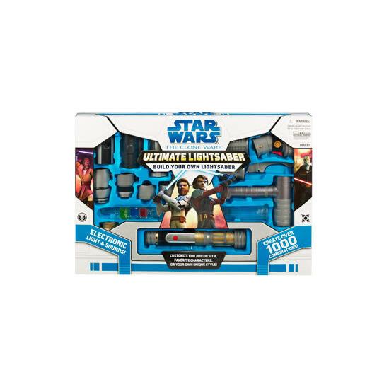 Star Wars Clone Wars - Ultimate Lightsaber - Build your own Lightsaber