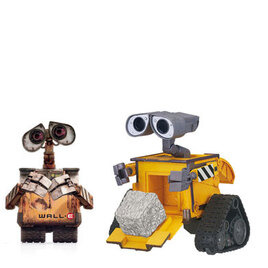 WALL.E Deluxe Figures - Cube & Stack Wall-E Reviews
