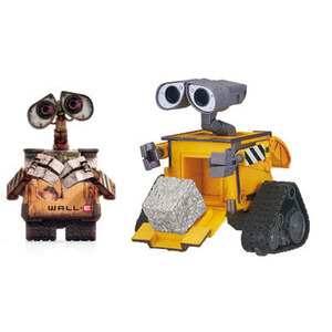 Photo of WALL.E Deluxe Figures - Cube & Stack Wall-E Toy