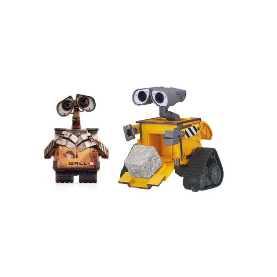 WALL.E Deluxe Figures - Cube & Stack Wall-E