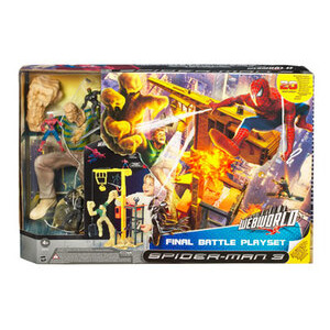 Photo of Spider-Man 3 - Webworld Final Battle Playset DVDs HD DVDs and Blu Ray Disc