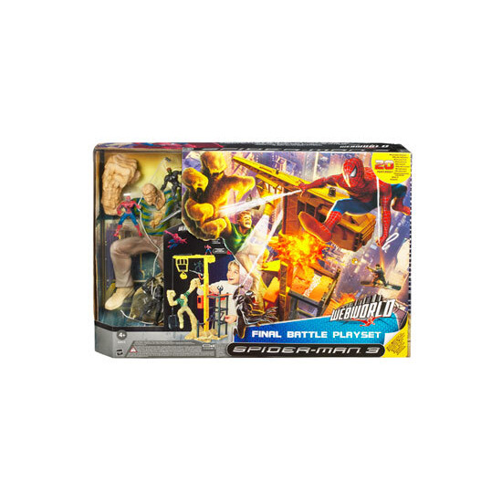 Spider-Man 3 - Webworld Final Battle Playset