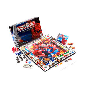 Photo of Spider-Man Monopoly Toy