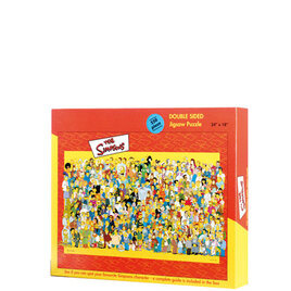 The Simpsons Double Sided Cast Puzzle Reviews